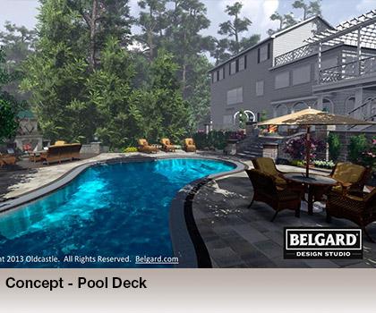 Belgard Design Studio 3d Landscaping Rendering