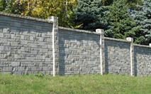 Allan Block Sound Barriers Fencing Concrete Wall Block